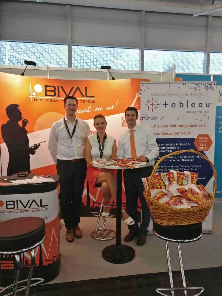TDWI BIVAL Messestand 2017